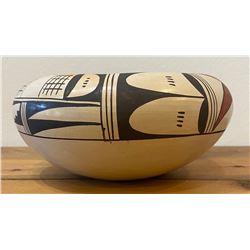 Carol Namoki Hopi polychrome Bowl