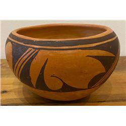 Vintage Hopi Bowl signed Zelpa Adams