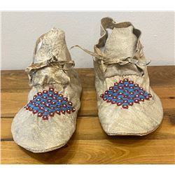Northern Plains Circa 1900 Moccasins