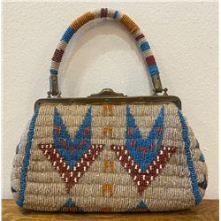 Circa 1900 Sioux Beaded Purse