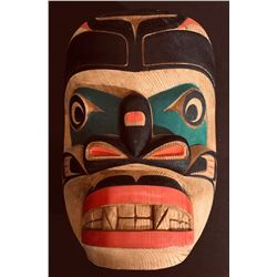 NW Coast Sea Monster Mask by Ozzie Matilpi