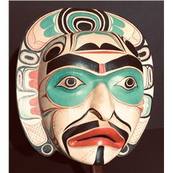 Northwest Coast  Moon Mask