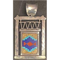 Richard Begay Navajo Rug Pendant