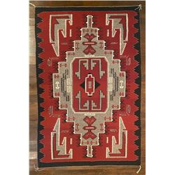 Large Beautiful Navajo Ganado Weaving by Beth Whitehorse