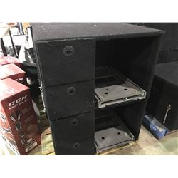 PORTABLE 2 DRAWER JEEP BACK CAMPING GENERATOR STORAGE SYSTEM
