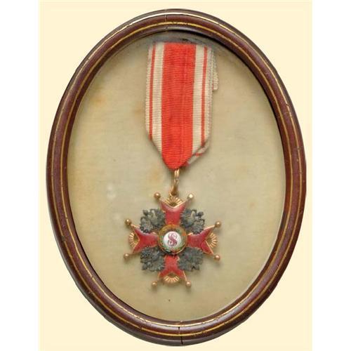 Medal - RUSSIA - Order of Saint Stanislas