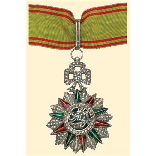 Tunisia Order of Glory Rappel ruban de boutonnière Ordre Nichan Iftikhar