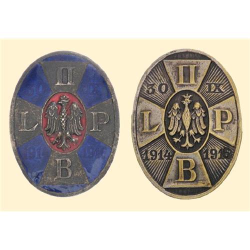 Medal - POLISH ARMY REGIMENTAL BADGES OF WORLD