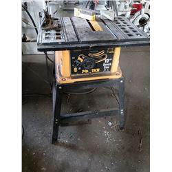 Pro Tech 10 Inch Bench Saw