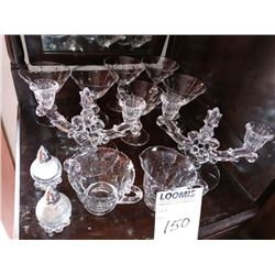 20 PC CRYSTAL GLASS COLLECTION