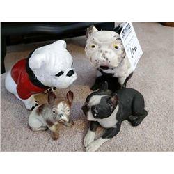 ANTIQUE DOG COLLECTIBLES LOT