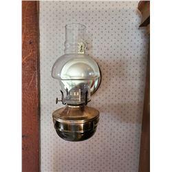 PAIR OF ORIGINAL OIL WALL LAMPS