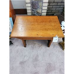 Antique Low Bench or Stool