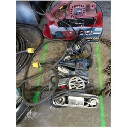 BUNDLE LOT OF ELECTRICAL POWER TOOLS