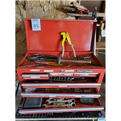 CRAFTSMAN TOOL CHEST, TOOLS INCLUDED