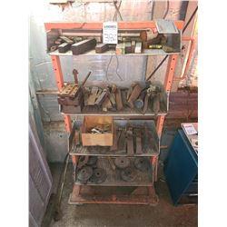 Shelf of miscellaneous metals