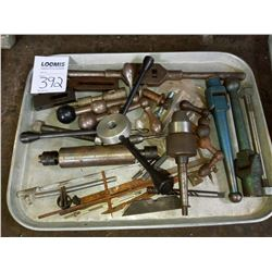 Miscellaneous tray of machine parts