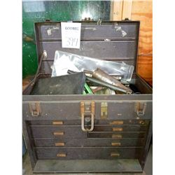 Kennedy top and bottom tool box with tools