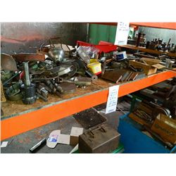 Large lot including drill bits , metals, etc.