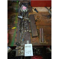 BUNDLE LOT: Misc. Drill Bit Set / Used Machine Head
