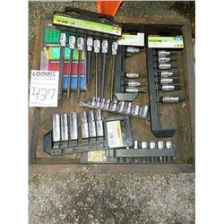 Lot of partial socket sets