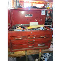 Dayton tool box full of miscellaneous tools