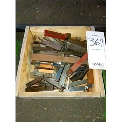Large lot of lathe cutting heads