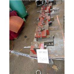 Assorted lathe parts