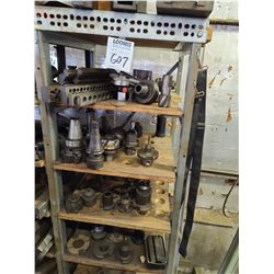Assorted tooling for milling machines
