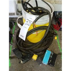 Assorted wiring and electrical lot