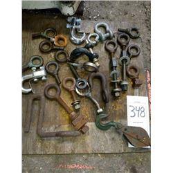Assorted hooks