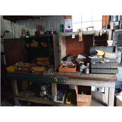 BUNDLELOT: Large Lot of Asstd Tools, Parts, Misc. / Asstd Shelf Lot of Tools