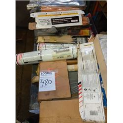 Lot of assorted welding rods