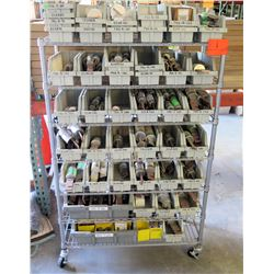 Contents of Rolling Shelves: Large Fuses