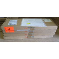 Qty 4 Enphase M210-84-2LL-S22-IG Micro Inverters