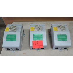 Qty 3 DC Solar Disconnect Boxes