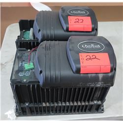 Qty 2 Out Back Power Systems