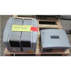 Qty 3 SunPower SPR-3000M Inverters