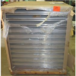 Contents of Pallet: DPW Solar Ballasted Power Rail Mounts