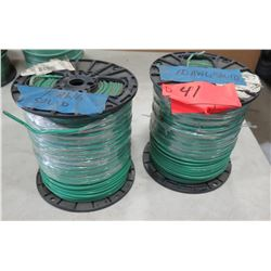 2 Spools of #10 Wire