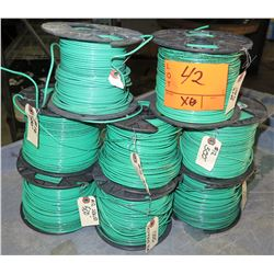 8 Spools of #12 Wire