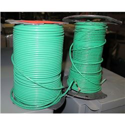 2 Spools of #10 Green Wire