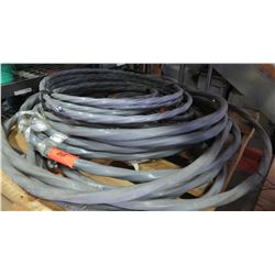 Misc. Coils of Large Gray Wire