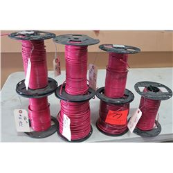 7 Spools of #10 Wire