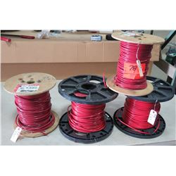 4 Spools of #8 Wire