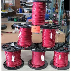 6 Spools of #6 Wire
