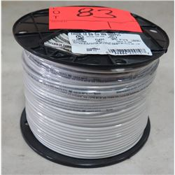 Sealed Spool #12 White Wire, 500 Ft. Spool
