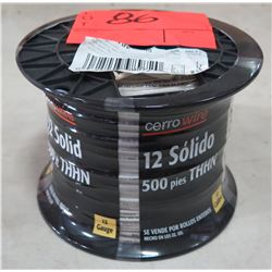 Sealed Spool of CerroWire #10 AWG White Wire, 500 Ft. Spool