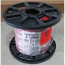 Sealed Spool of CerroWire #8, 500 Ft. Spool