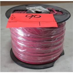 Sealed Spool Wire #12 Red Wire, 500 Ft. Spool, Sealed